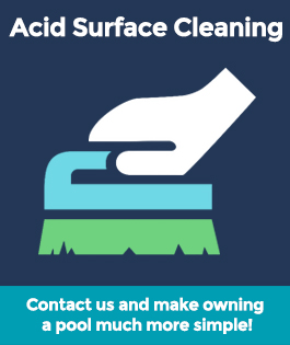 Acid Surface Wash Cleaning Pool Equipment & Services | Stahlman Pool Company - Naples, Florida