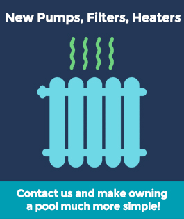 New Pumps, Filters & Heaters Pool Equipment & Services | Stahlman Pool Company - Naples, Florida