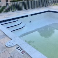 Community Pool Resurfacing Renovation - After - Pool Equipment & Services | Stahlman Pool Company - Naples, Florida
