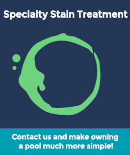 Specialty Stain Treatment Pool Services | Stahlman Pool Company - Naples, Florida